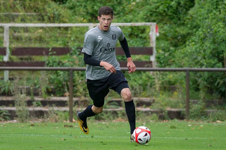 Marcel Lück sicherte dem Bremer SV drei Punkte bei Vatan Sport. (Foto: Oliver Baumgart)
