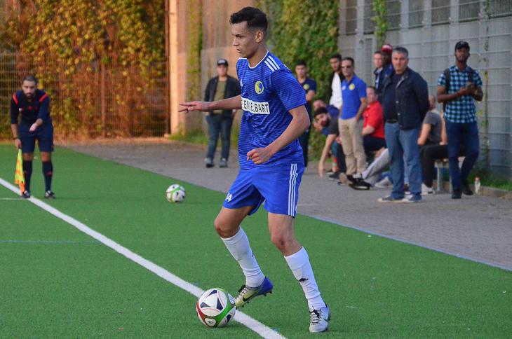 Pokalsieger Elmehdi Faouzi empfängt mit dem BSC Hastedt den Meister Brinkumer SV. (Foto: Olaf Lücke)