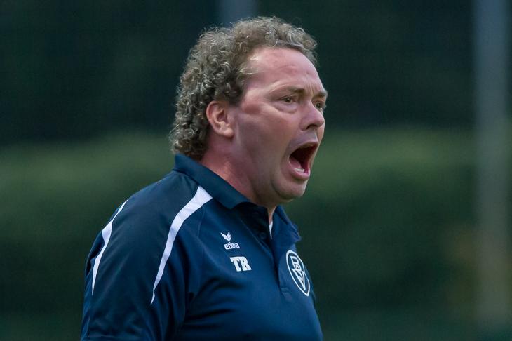 BSV-Coach Ralf Voigt war mit dem Auftritt seines Teams bei Werders U 21 ganz und gar nicht zufrieden. (Foto: Oliver Baumgart)