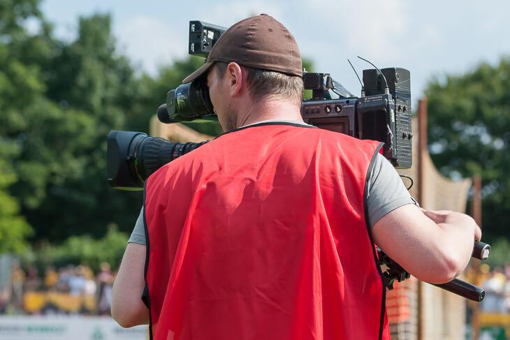 Die Endspiele um den LOTTO-Pokal werden auf sporttotal.tv live übertragen. (Foto: Oliver Baumgart)