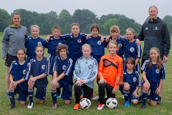 Platz vier im Norden: Die U 12-Juniorinnen des BFV. (Foto: Oliver Baumgart)