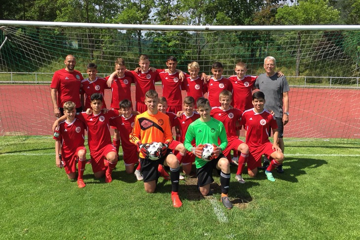 u14 vor bad blankenburg 201901
