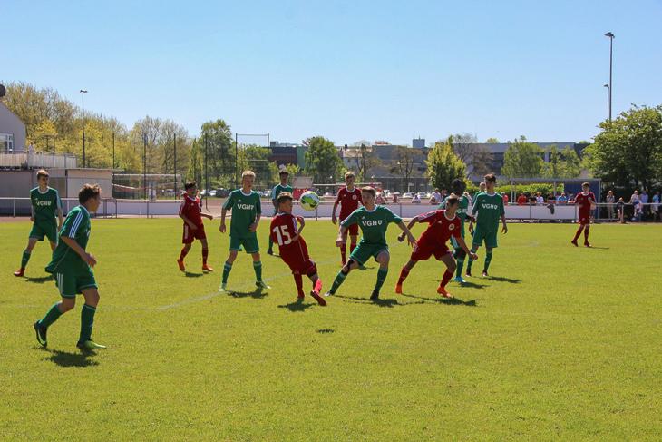Das Finale im letzten Jahr: Bremen vs. Niedersachsen. (Foto: Ralf Krönke)