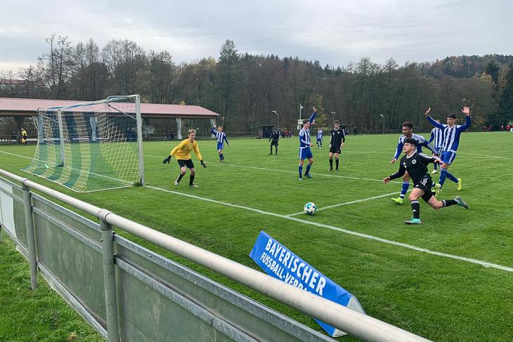 Im Spiel gegen Bayern war die Bremer-Auswahl klar unterlegen. (Foto: Jurij Zigon)