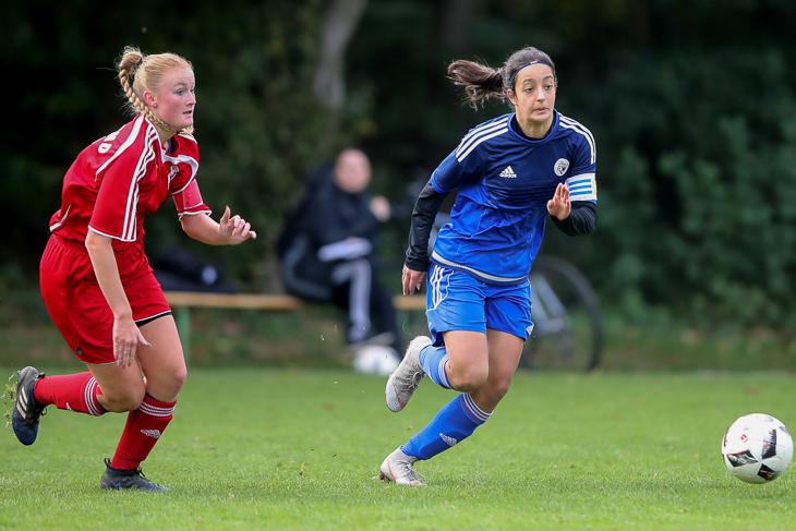 Selma Licina (r.) im Spiel gegen das Saarland. (Foto: Getty Images)