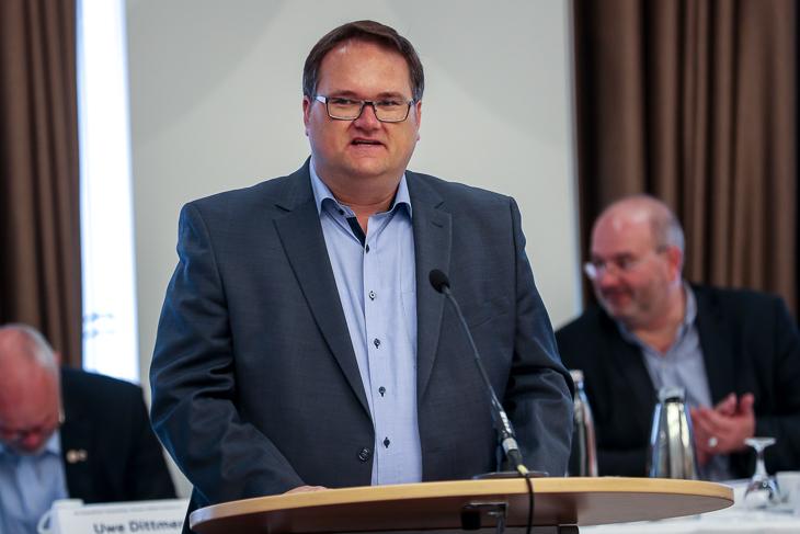 Björn Fecker leitet den Verband auch in den kommenden drei Jahren. (Foto: Sven Peter - spfoto.de)