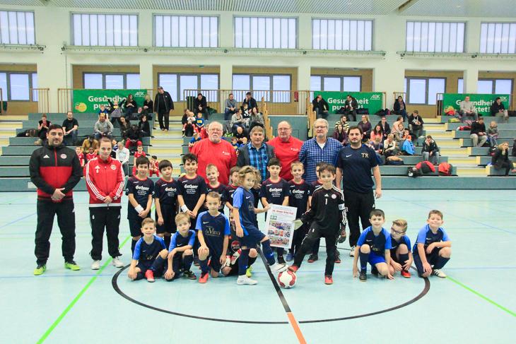 Den Turnierstart legten die Mannschaften Leher TS F II und ESC Geestemünde I hin.