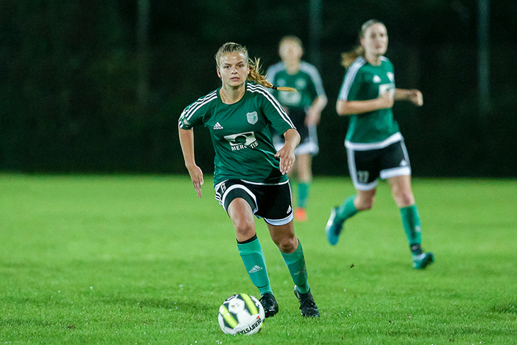 Josina Nonnast steht mit dem SC Weyhe im Viertelfinale. (Foto: Oliver Baumgart)